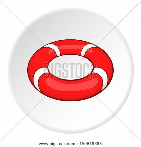 Lifeline icon. Cartoon illustration of lifeline vector icon for web