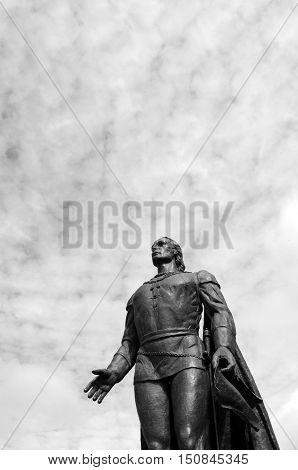 Christopher Columbus Sculpture