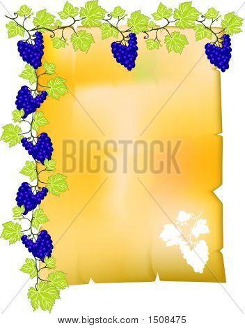 Parchment Grape.Eps