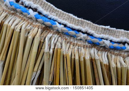 Maori Flax Piupiu Skirt