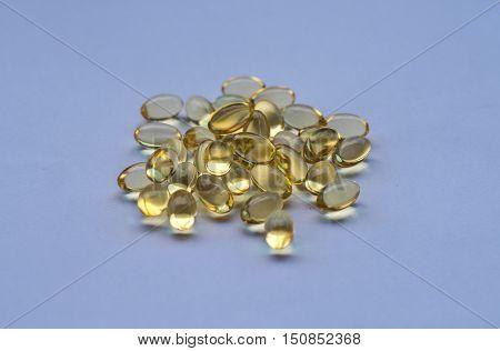 Medicine healthy vitamin fish oils omega3 cure