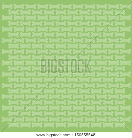 Row Of Dog Bone On Colorful Background