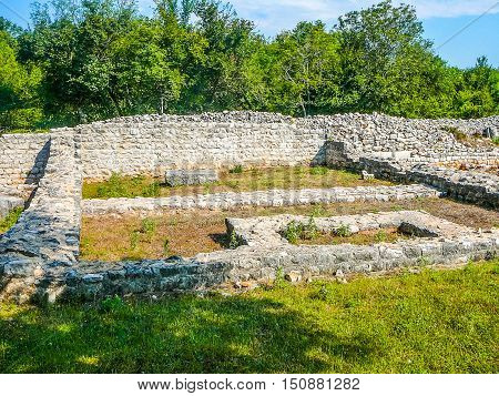 Hdr Omisalj Ruins