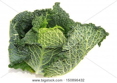 Collard greens or kale is a typical winter vegetables