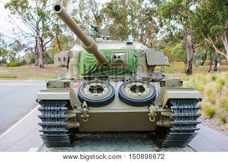 Centurion Tank from Vietnam War, Canberra, Australia