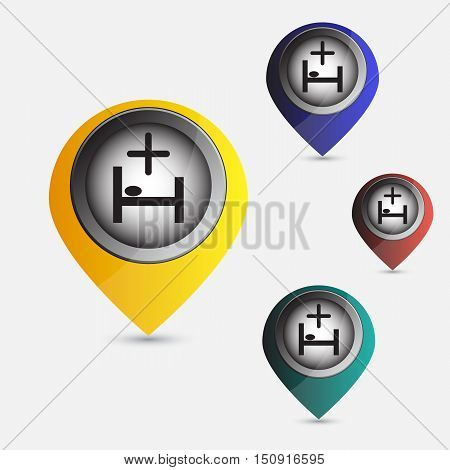 set map pointer hospital recovery for you design