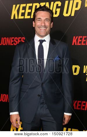 LOS ANGELES - OCT 8:  Jon Hamm at the