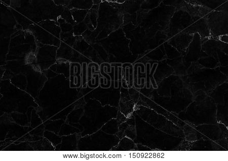Black marble patterned texture background. marble of Thailand, abstract natural marble black and white for design, background or skin luxurious.