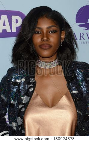 LOS ANGELES - OCT 5:  Diamond White at the