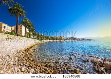 Ajaccio Old City Center, Corsica, France, Europe
