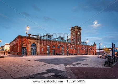 Ashton-under-Lyne is a market town in Tameside Greater Manchester England