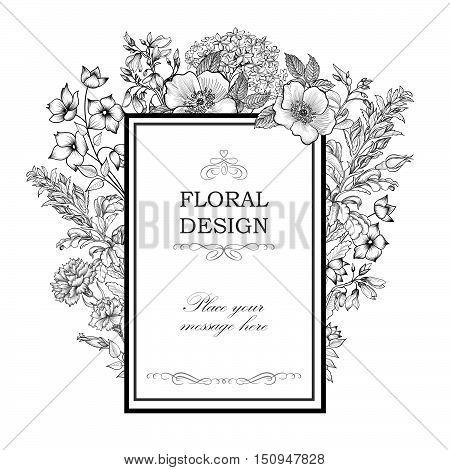 Flower-background_with_frame-sketch-4