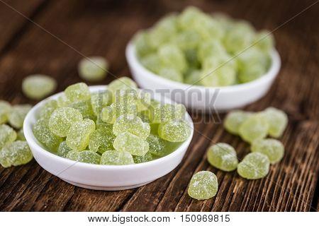 Sour Gummy Candy (apple Taste)