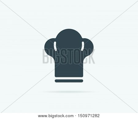 Cooking Chef Hat Vector Element Or Icon, Illustration Ready For Print Or Plotter Cut Or Using As Log