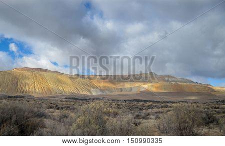 The Bingham Canyon Mine Or Kennecott Copper Mine