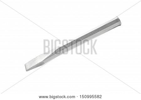Heavy Duty Cold Flat Chisel isolated on white background