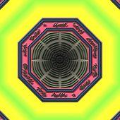Mandala Eastern abstract design geometric pattern clipart design poster