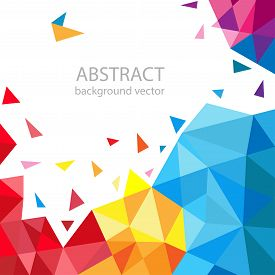 Abstract geometric vector background. for your text.
