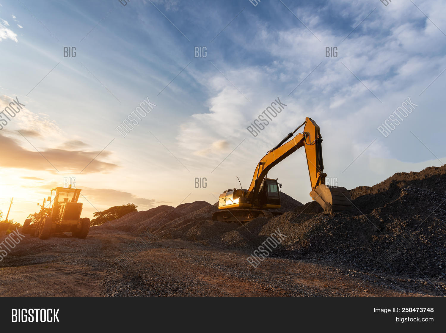 Backhoe Used Image & Photo (Free Trial) | Bigstock
