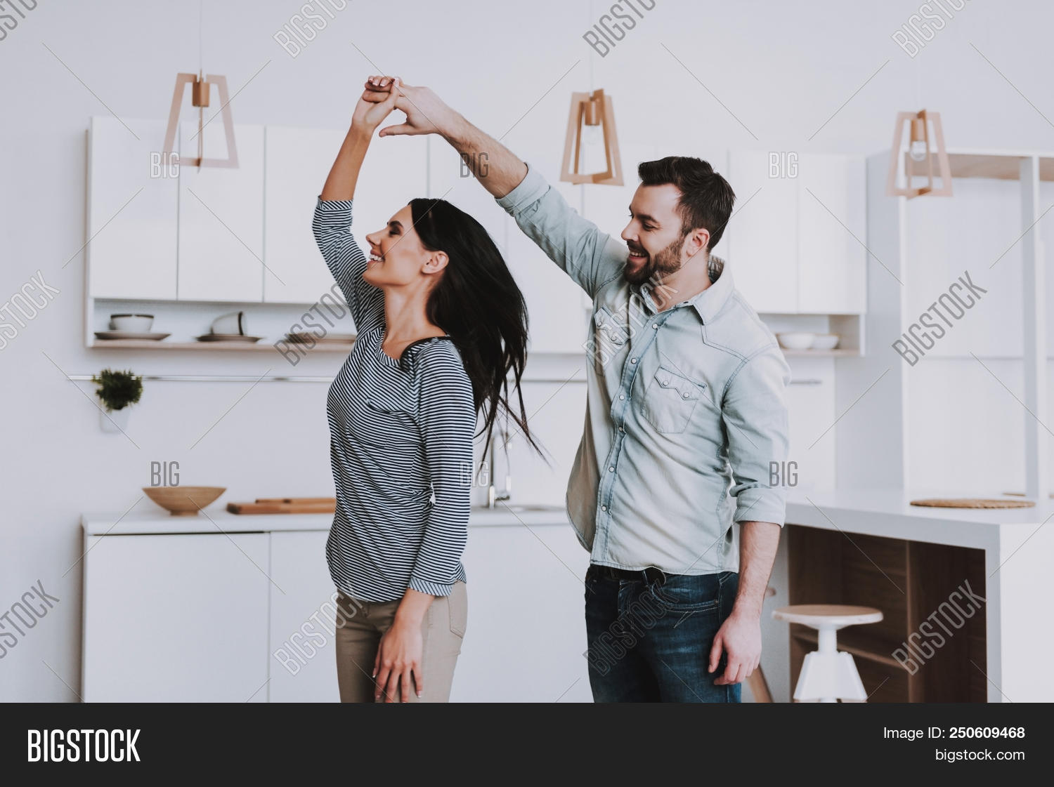 Young Happy Couple Image Photo Free Trial Bigstock