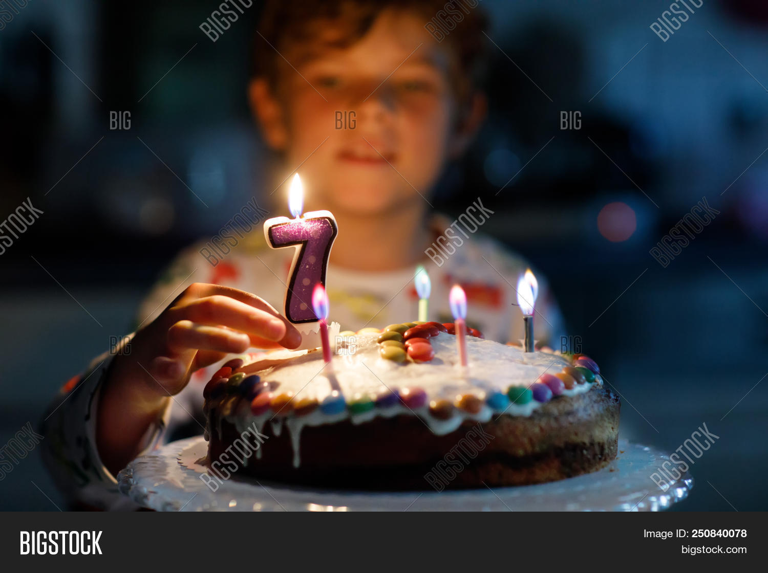 Outstanding Adorable Happy Blond Image Photo Free Trial Bigstock Personalised Birthday Cards Sponlily Jamesorg