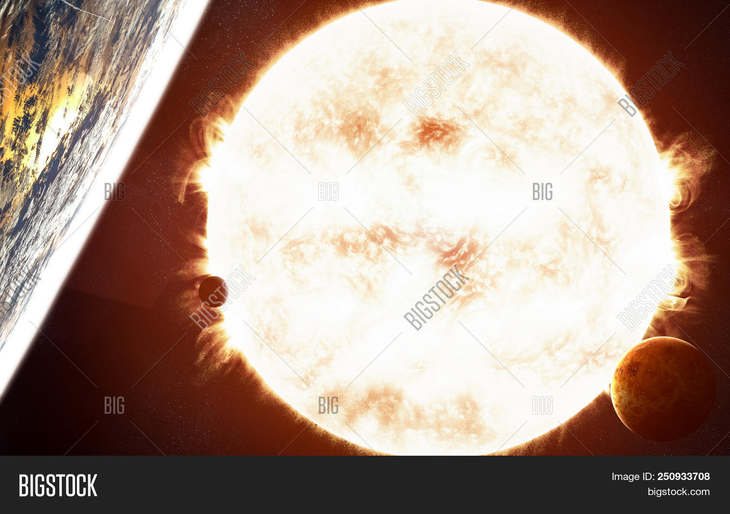 Sun Red Giant Star Image Photo Free Trial Bigstock