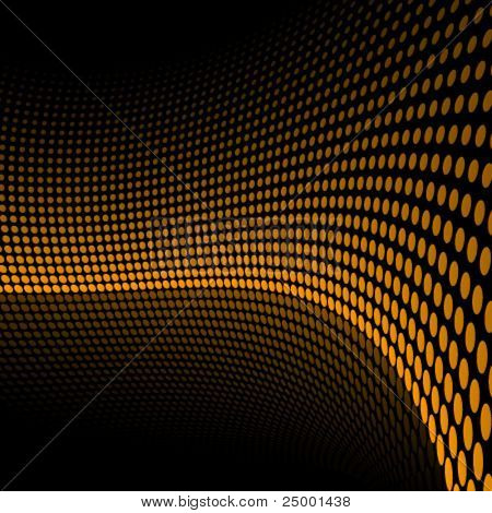 Doted vector background
