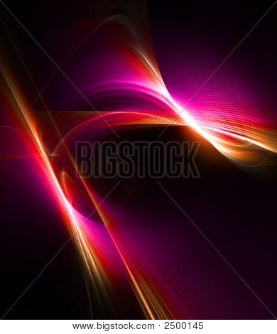 Purple Abstract Design