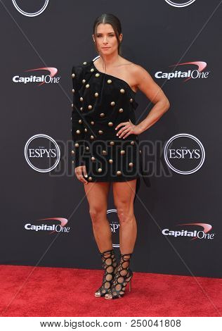 LOS ANGELES - JUL 18:  Danica Patrick arrives to the 2018 ESPY Awards  on July 18, 2018 in Hollywood, CA