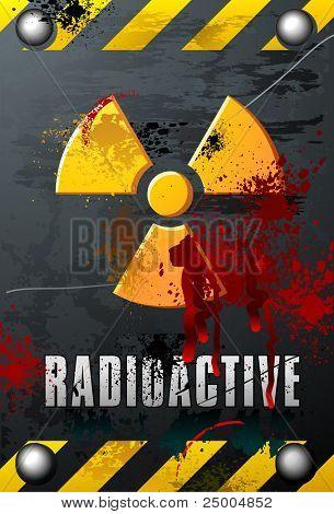 Radioactivity Plate