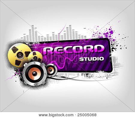 Recording Music banner