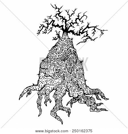 Tree With Roots Images Illustrations Vectors Free