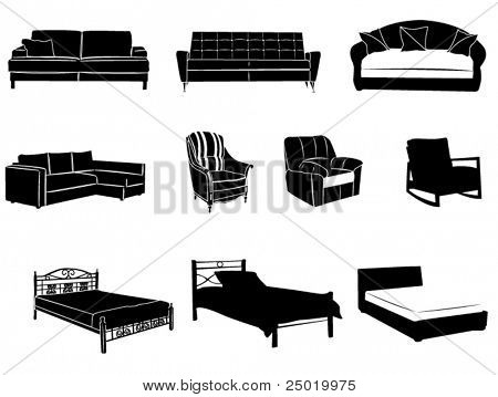 Beds and sofas