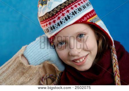 Winter Dressed Girl
