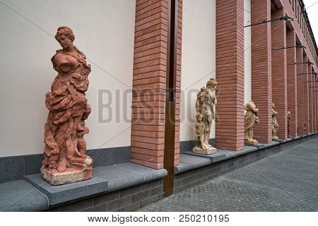 Frankfurt Historisches Museum facade in Germany