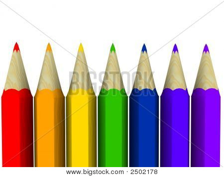 Rainbow Art Pencils