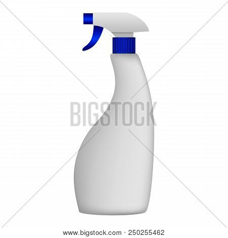 Pulverizer Mockup. Realistic Illustration Of Pulverizer Vector Mockup For Web Design Isolated On Whi