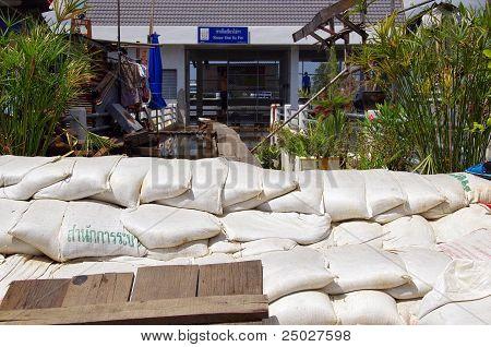 Bangkok Thailand ,flood Protect
