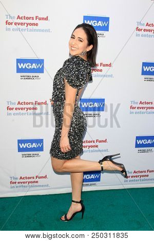 LOS ANGELES - JUN 11: Gabrielle Ruiz at The Actors Fund's 22nd Annual Tony Awards Viewing Party at the Skirball Cultural Center on June 10, 2018 in Los Angeles, CA
