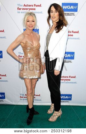LOS ANGELES - JUN 11: Marjorie Goodson, Kimberly Aboltin at The Actors Fund's 22nd Annual Tony Awards Viewing Party at the Skirball Cultural Center on June 10, 2018 in Los Angeles, CA