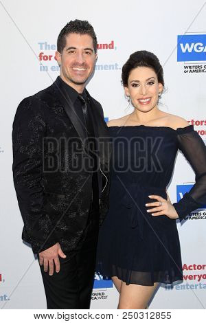 LOS ANGELES - JUN 11: Will Nunziata, Catherine LeFrere at The Actors Fund's 22nd Annual Tony Awards Viewing Party at the Skirball Cultural Center on June 10, 2018 in Los Angeles, CA