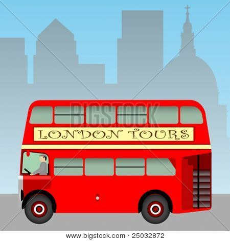 A Red London Doubledecker Bus