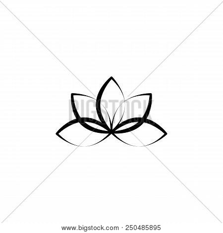 Yoga Icon Element Vector Photo Free Trial Bigstock