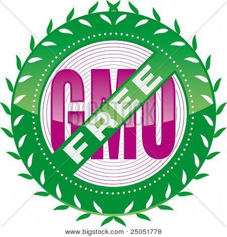 editable GMO-free sign