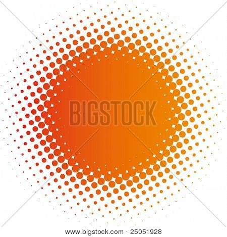 spotted flash (vector design element)