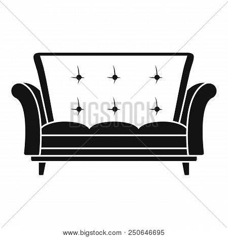 Leather Sofa Icon Vector Photo Free Trial Bigstock
