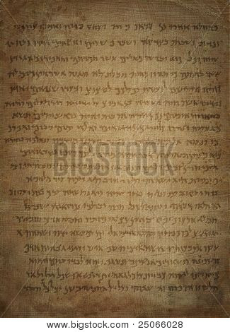 Dead Sea Scroll background
