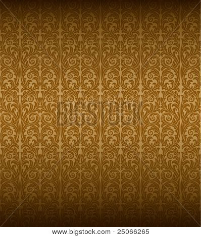 Seamless Baroque Wallpaper