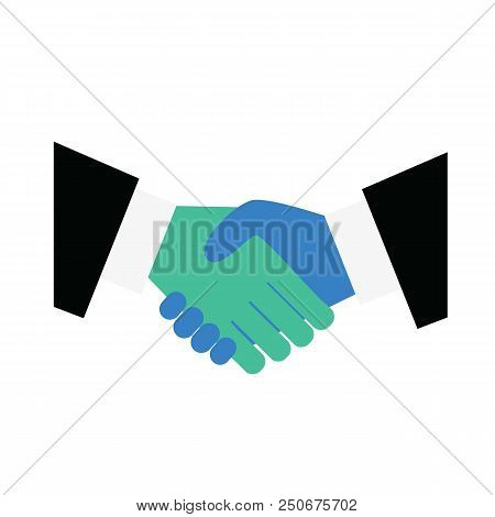 Handshake Icon. Symbolizing An Agreement Signing A Contract Or Transaction. Shake Hands, Agreement,