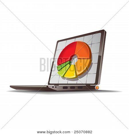 Financial diagram drawing